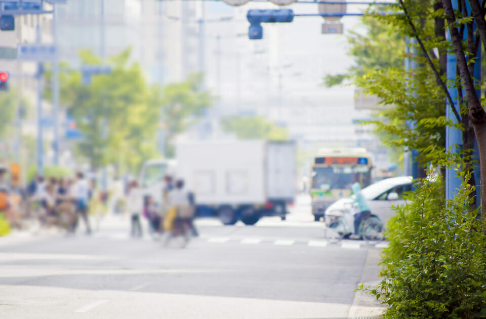 自転車が関わる事故が増えています。